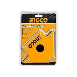 """ESCUADRA MAGNETICA  4""""/50Lbs INGCO AMWH50041"""