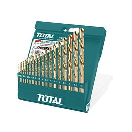 Juego de Brocas Metal 19 piezas Total TACSD0195