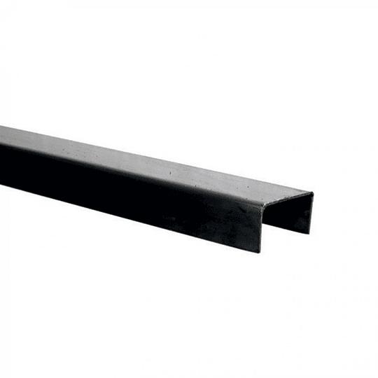 CANAL DE FIERRO 80x40x1.5mm x 6m  CAU80X40X1.5