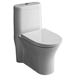 Sanitario WC One Piece Doble Descarga 3.5/5 litros . COD303