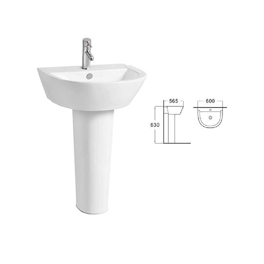 Lavamano Pedestal  Cod: 3067