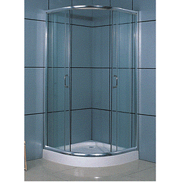 Showerdoor Blue con Base Fibra 1000X1000X1980