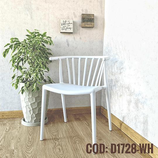 Silla Diseño Cod: D1728-WH