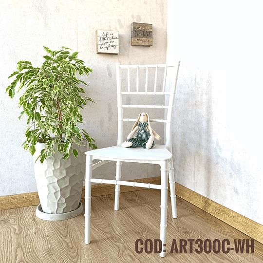 Silla Diseño Cod:  ART300C-WH
