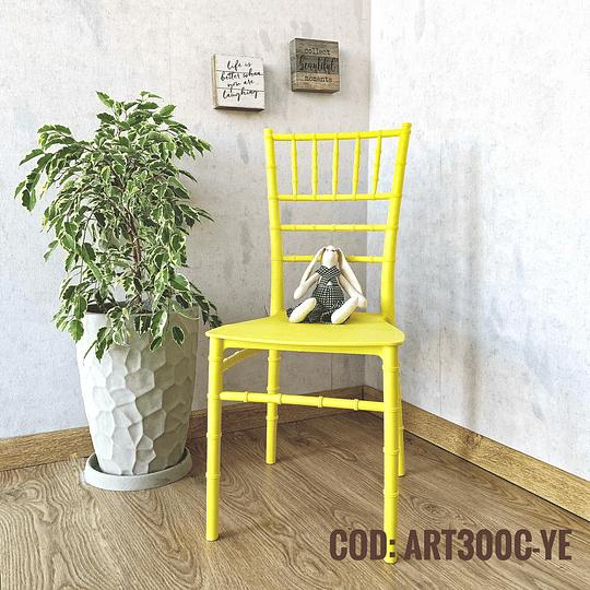 Silla Diseño Cod:  ART300C-YE