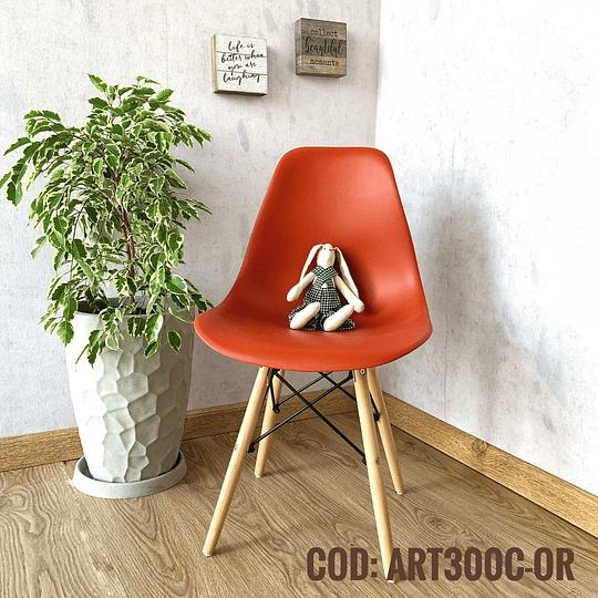 Silla Diseño Cod:  ART100C-OR
