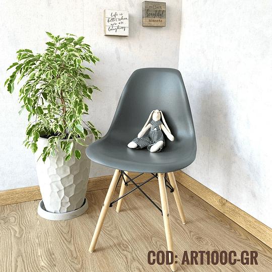 Silla Diseño Cod:  ART100C-GR
