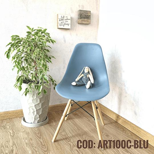Silla Diseño Cod:  ART100C-BLU