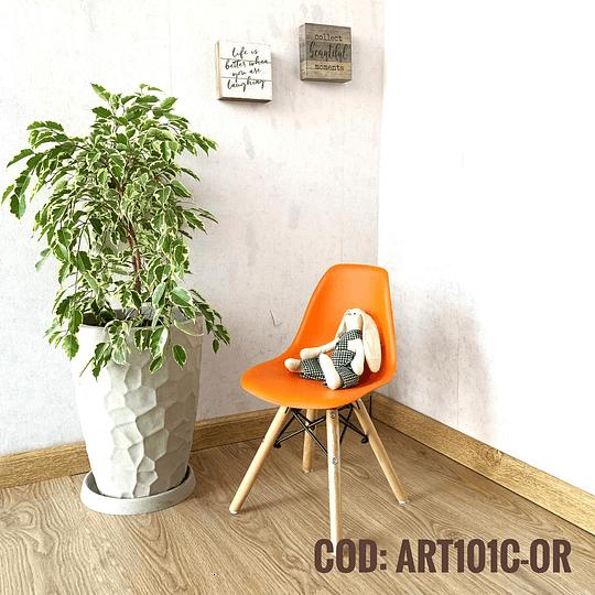 Silla Diseño Infantil  Cod:  ART101C-OR