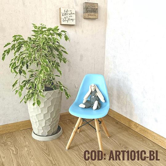 Silla Diseño Infantil  Cod:  ART101C-BL
