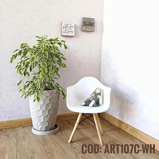 Silla Diseño Infantil  Cod:  ART107C-WH