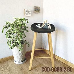 Silla Bar Taburete Moderna  Cod:  GCB812-BL