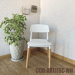 Silla Moderna Cod:  ART115C-WH