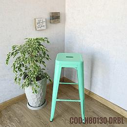 Silla de Bar Metalica Moderna Cod:  H80130-DRBL