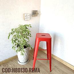 Silla de Bar Metalica Moderna Cod:  H80130-REMA