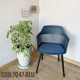 Silla Moderna Cod:  7047-BLU