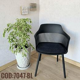 Silla Moderna Cod:  7047-BL