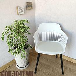 Silla Moderna Cod:  7047-WH