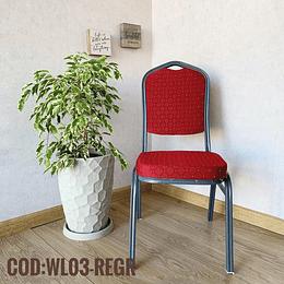 Silla para Eventos Cod: WL03-REGR
