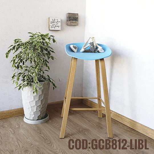 Silla Bar Taburete Moderna  Cod:  GCB812-LIBL