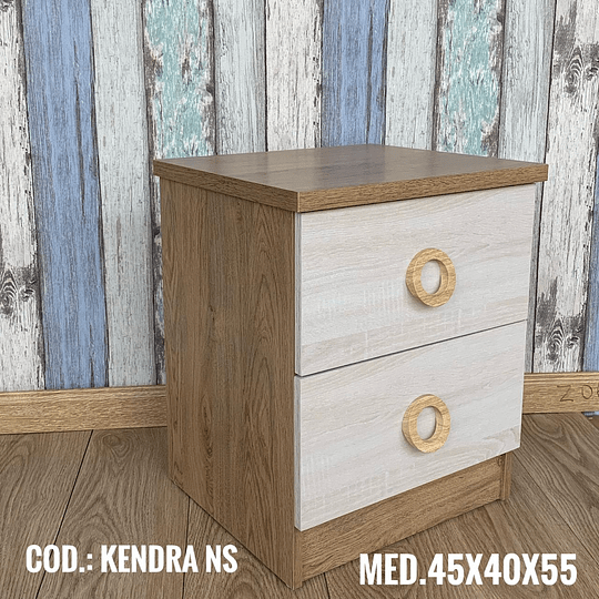 Velador Madera Cod: KENDRA NS