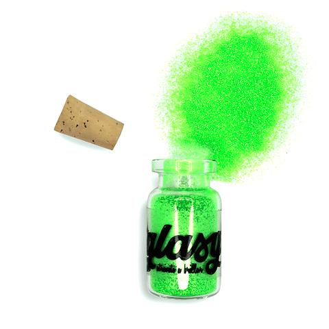 Glitter Fluor Verde