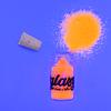 Glitter Fluor Naranja