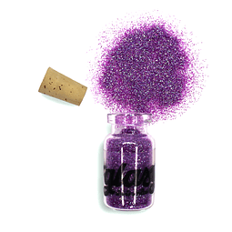 Glitter Purple Addict 6