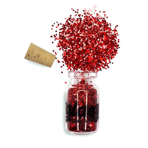 Trocitos Pequeños Rojo