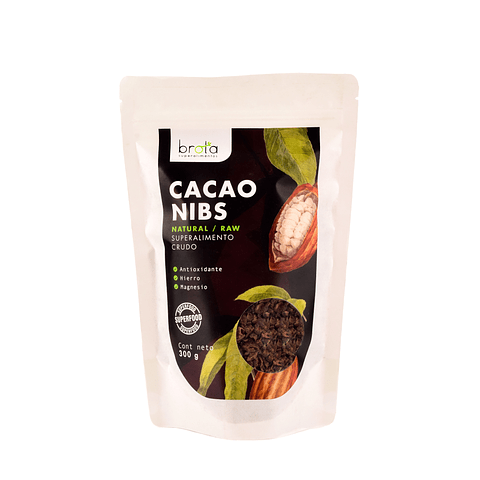 Cacao Nibs 300 grs.