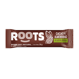 BARRA ROOTS CACAO ALMENDRAS