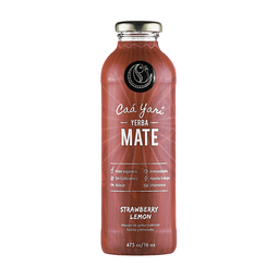Yarí Mate Strawberry Lemon 475ml.