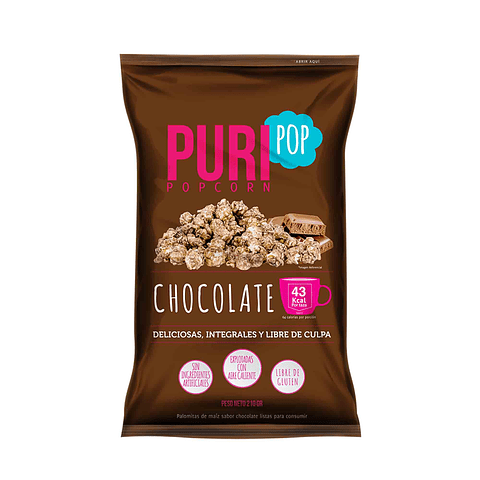 Puripop Chocolate 210grs.