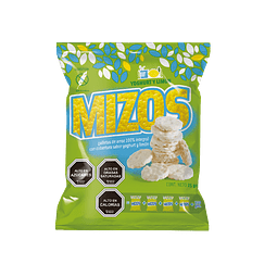 Galletas de arroz Yogurt Limón 25grs