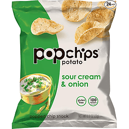 Papas aireadas sabor Sour Cream individual 23grs.