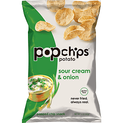 Papas aireadas sabor Sour Cream 142grs.
