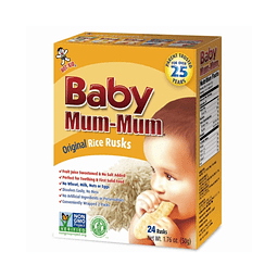 Galletas Baby Mum Mum Original 50 gr.