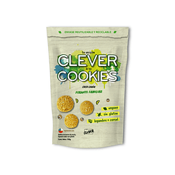 Clever Cookies formato familiar Coco Limón 150 grs.