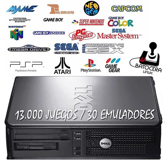 Computador Batocera 13000 juegos 35 emuladores