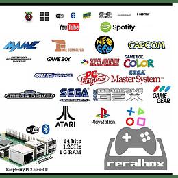 Cambio a sistema Raspberry 32Gb 10.500 juegos en 26 emuladores