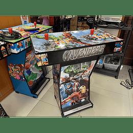 Pedestal Superheroes 10.000 Juegos 28 emuladores