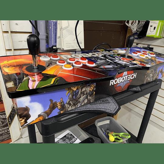Tablero Arcade Robotech 32Gb 10.000 juegos 26 consolas