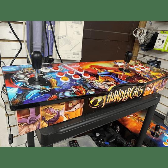 Tablero Arcade Thundercats 32Gb 10.000 juegos 26 consolas