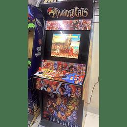 "Arcade Thunder Raspberry 19 Cuadrada "" + subwoofer 10.500 juegos en 26 consolas + Wifi"