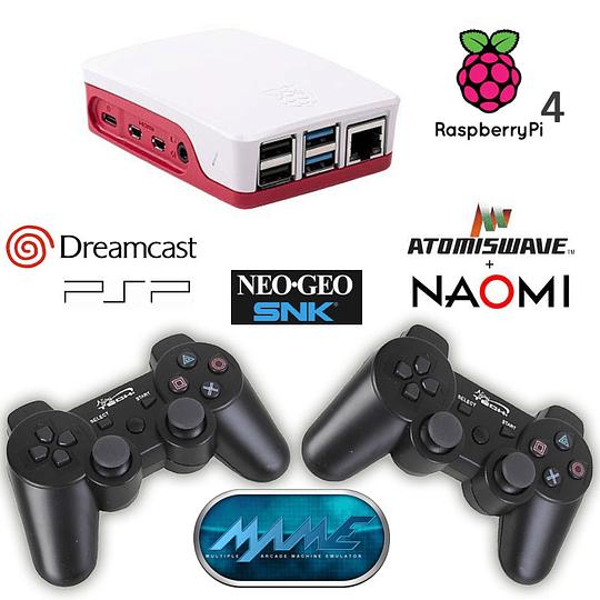 Consola Retro 3D 64Gb Raspberry Pi4 / 11.700 Juegos