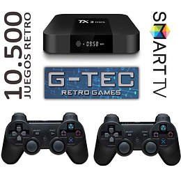 Consola Retro Quadcore 10.500  juegos Joy Inalambricos + Smart TV