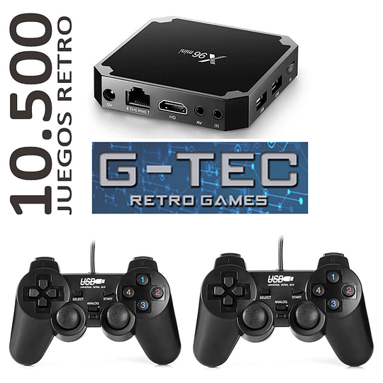Consola Retro Emuelec Quadcore 10.500 juegos Joy Colores