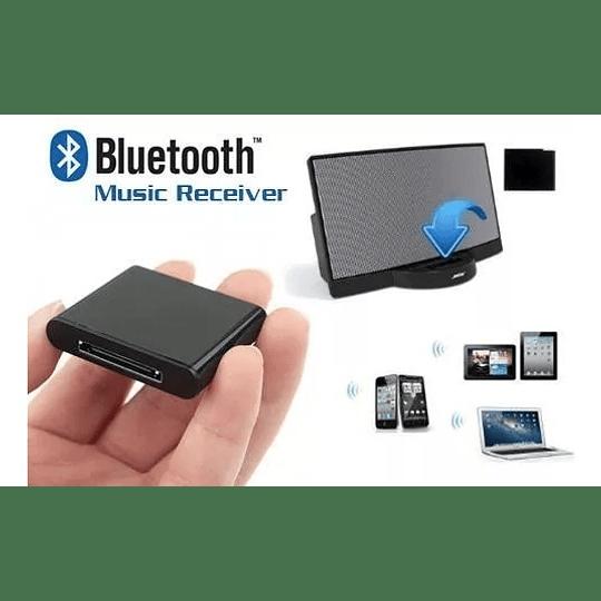 Adaptador Bluetooth para parlantes Bose Altec Harman 30 pines (Conector Iphone 4)
