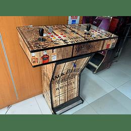 Pedestal Jack Rustico 10.000 Juegos 28 emuladores