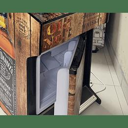Agregar Frigobar Graficado en Arcade Raspberry